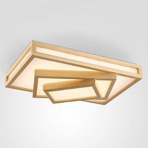Flush Mount Mini Style Modern/Contemporary Living Room / Bedroom / Dining Room / Study Room/Office / Hallway Wood/Bamboo
