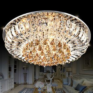 Flush Mount Crystal / LED Traditional/Classic Living Room Crystal