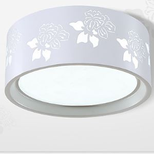 25W Led Light Flush Mount Modern/Contemporary / Ceiling Light Bedroom/Livingroom/Kids Room/Entry/ Hallway/ Metal