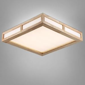 Flush Mount Mini Style Modern/Contemporary Living Room / Bedroom / Study Room/Office / Kids Room / Hallway Wood/Bamboo