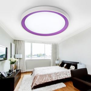 (In Stock) Modern Simple Fashion LED Acrylic Flush Mount Light Living Room Bedroom Study Room Dining Room