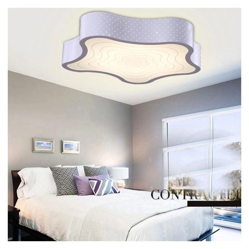 lighting flush mounts in stock modern simple