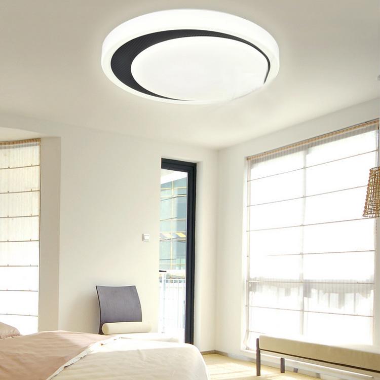 White Flush Mount Led Dimmable Light Living Room Bedroom