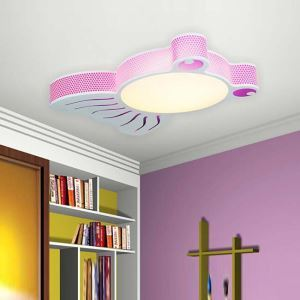Modern Fashion Cartoon LED Acrylic Small Fish Flush Mount Light Living Room Bedroom Study Room Dining Room