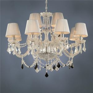 (In Stock) 12-light The style of palace Glass Chandelier