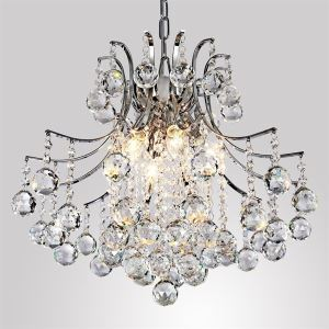 Pendant Light Luxury Modern Crystal Living 6 Lights