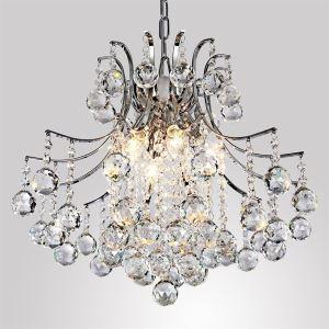 Pendant Light Luxury Modern Crystal Living 6 Lights