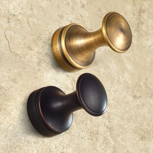 European Antique Bathroom Accessories Copper Robe Hook