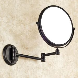 European Antique Bathroom Accessories Copper ORB Make-up Mirror