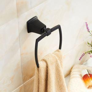 European Antique Bathroom Accessories Stainless Steel ORB Towel Ring