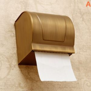 European Antique Bathroom Accessories Copper Toilet Roll Holders