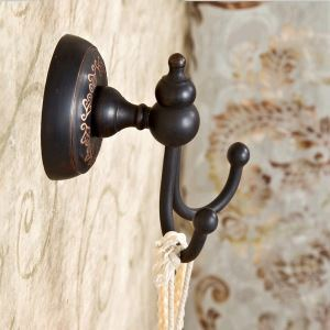 European Antique Bathroom Accessories Copper ORB Robe Hook