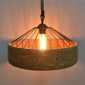 1 Light Rope  Pendant Lights Mini Style Modern Contemporary Country