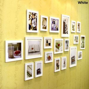 European Style Wood Wall Frame Collection  - Set of 20 Pieces