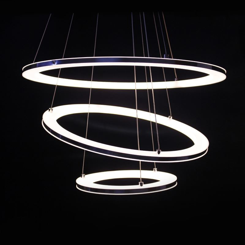 round pendant lighting. Lighting Ceiling Lights Pendant Modern Simple Acrylic LED Circle Light 3 Round