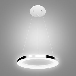 Modern Simple Acrylic LED Circle Pendant Light 1 Tier Ceiling Lights Energy Saving(Angel's Halo)