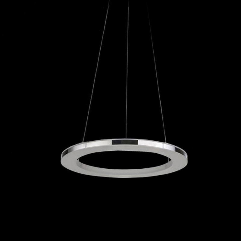 modern simple led pendant light acrylic led circle pendant. Black Bedroom Furniture Sets. Home Design Ideas