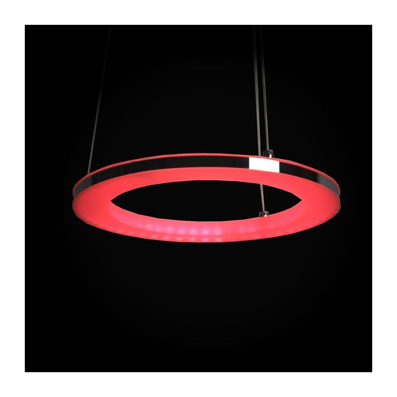 Modern Simple LED Pendant Light Acrylic LED RGB Circle