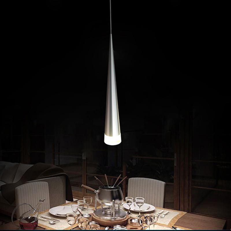 Modern Simple Acrylic LED Pendant Light 1-light Energy Saving