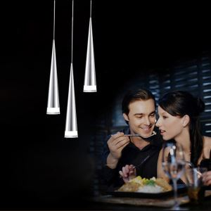 Modern Simple Acrylic LED Pendant Light 3-light Energy Saving