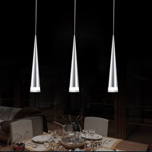 Modern Simple Acrylic LED Pendant Light 3-light