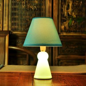 Fashion Creative Teruteruboz Bedroom Beside Lamp Ceramic Eye-protection Table Lamp