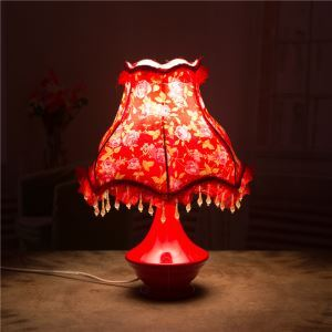 Creative Bedroom Beside Lamp Ceramic Eye-protection Table Lamp