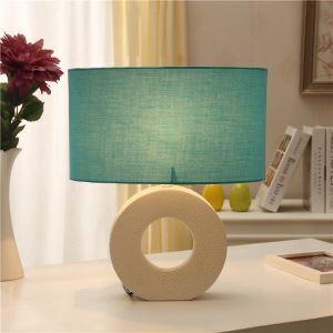 Mediterranean Style Bedroom Beside Lamp Ceramic Eye-protection Table Lamp