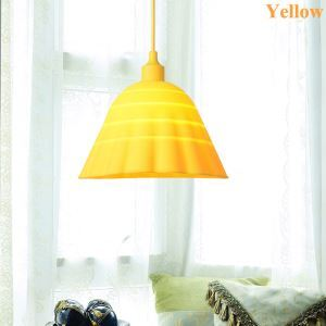 Simple Colorful Pendant Light