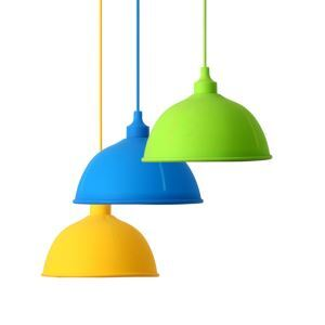 Creative Colorful Silicone Pendant Light