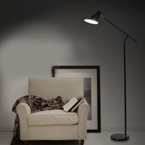 Vertical Floor Lamp with 2 Colors