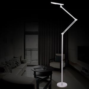 Modern Creative White Vertical Floor Lamp