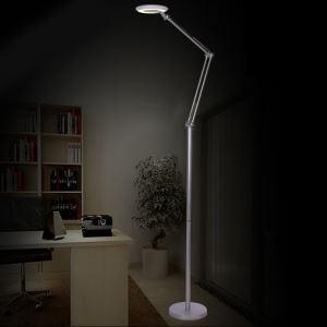 Modern Creative Silver Vertical Floor Lamp