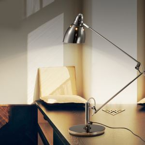Modern Creative Silver Fancy Table Lamp