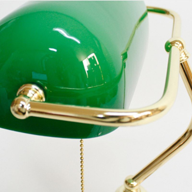 ... Lighting   Table Lamps   Retro Style Green Shade Fancy Table Lamp Img_3  ...