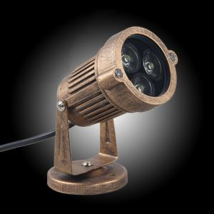 Retro Outdoor Waterproof Painting Spot Light Outdoor Wall Light Lawn Lamp