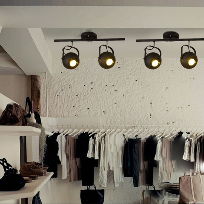 Lighting Ceiling Lights Industrial Retro Style Spot