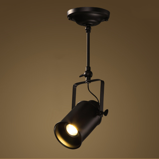 Lighting ceiling lights industrial retro long fixture for Long ceiling light fixture