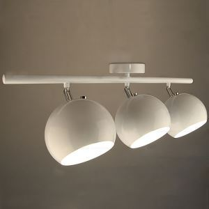 Modern Simple Cretaive Stoving Varnish Spot Light 3-light Balcony