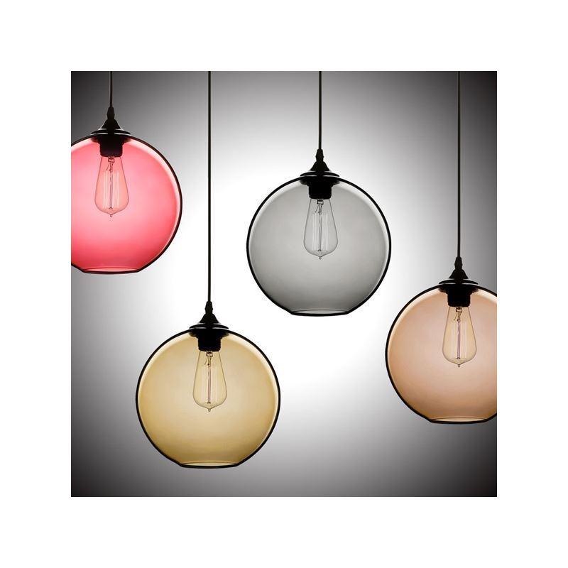 Modern Copper Ring Led Pendant Lighting 10758 Shipping: (In Stock) Modern Minimalist Glass Pendant Light Globe