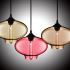 Show details for (In Stock) Hand-Blown Glass Pendant Light Fish Bowl Shade Ceiling Fixture with 1 Light  Dining Room Lighting Ideas Lighting Living Room Bedroom Ceiling Lights(Color of Love)