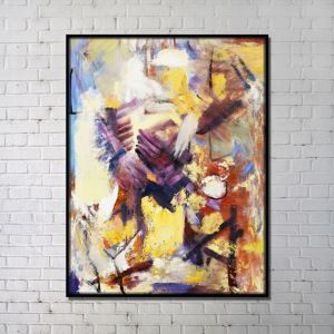 Contemporary Wall Art Abstract Print Colorful without Frame 36'*48'