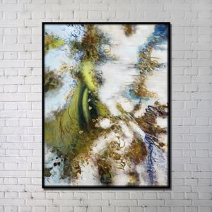 Contemporary Wall Wind Art Abstract Print without Frame 36'*48' B