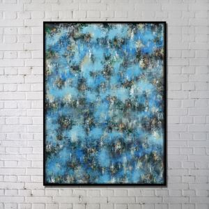Contemporary Wall Art Peak Abstract Print without Frame 36'*48'