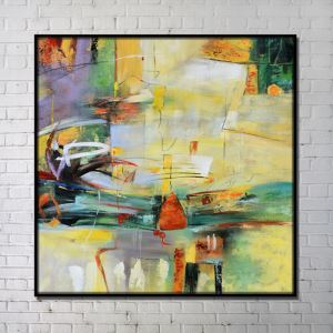 Contemporary Wall Art Abstract Wall Print without Frame 40'*40' C
