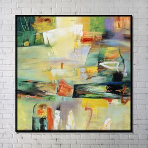 Contemporary Wall Art Abstract Wall Print without Frame 40'*40' D