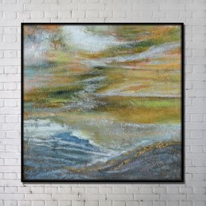 Contemporary Wall Art Prairie Abstract Wall Print without Frame 40'*40'