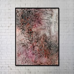 Contemporary Wall Art Underwater World Abstract Wall Print without Frame 28'*40' B