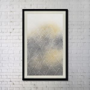 Contemporary Wall Art Ink Abstract Wall Print without Frame 34'*54'