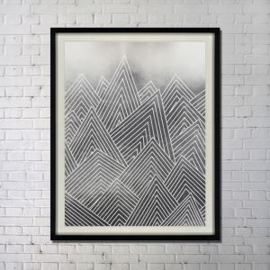 Contemporary Wall Art Ink Abstract Wall Print without Frame 34'*42'